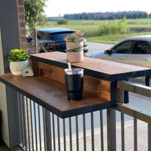 NEW! Balcony Bars with Table Tops!